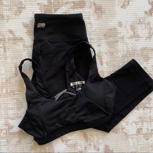2 piece set - xs sports bra & xs leggings